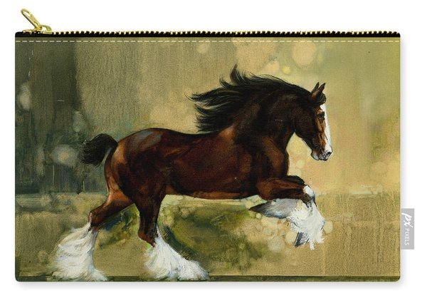 Clydesdale Stallion Carry-all Pouch