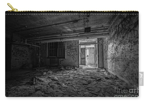 Abandoned Bw Carry-all Pouch
