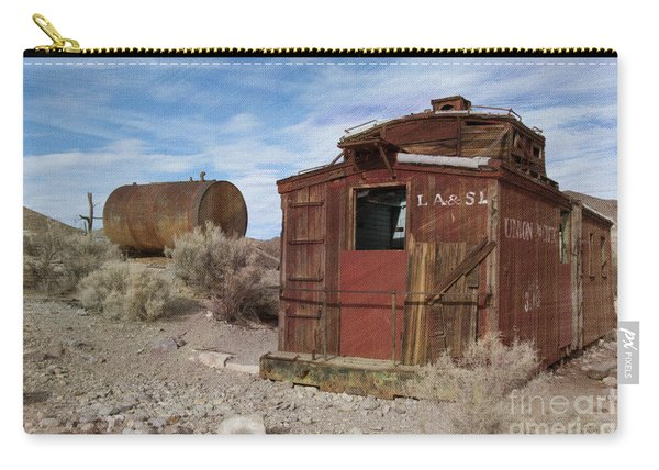 Abandoned Caboose Carry-all Pouch