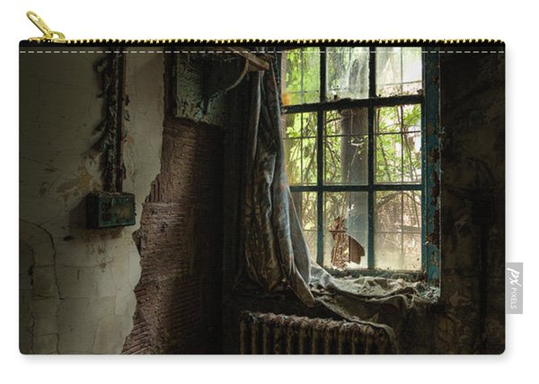Abandoned - Old Room - Draped Carry-all Pouch