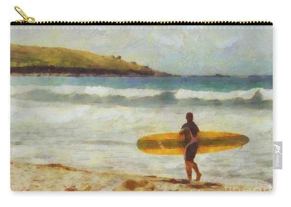 About To Surf Carry-all Pouch