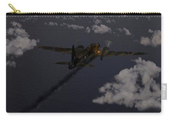 Above And Beyond - Jimmy Ward Vc Carry-all Pouch