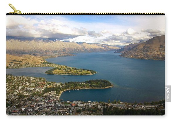 Above Queenstown Carry-all Pouch