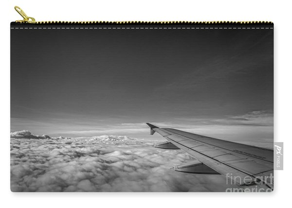Above The Clouds Bw Carry-all Pouch