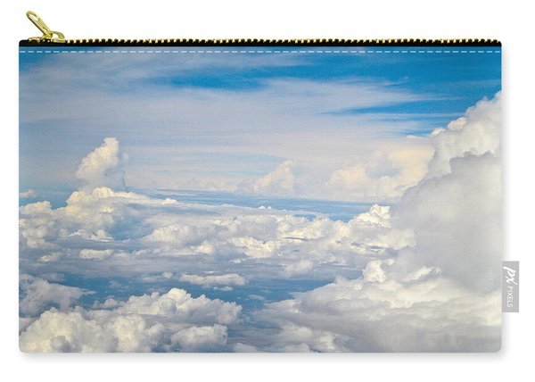 Above The Clouds Over Texas Image B Carry-all Pouch