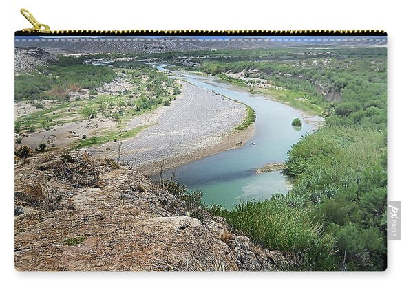 Above The Rio Grande Carry-all Pouch
