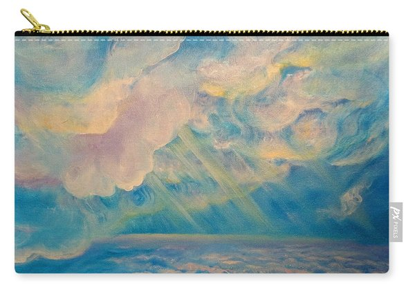 Above The Sun Splashed Clouds Carry-all Pouch