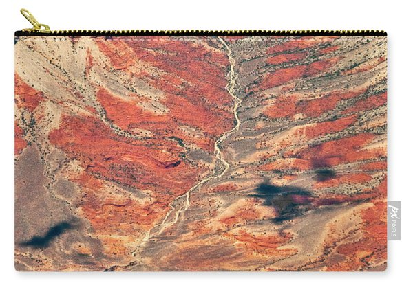 Carry-all Pouch featuring the digital art Above Timber Line by Mae Wertz