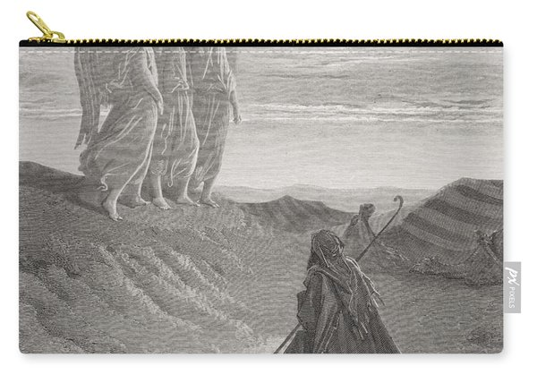 Abraham And The Three Angels Carry-all Pouch