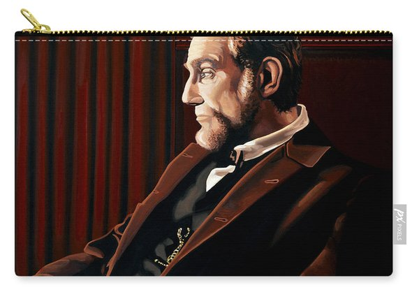 Abraham Lincoln By Daniel Day-lewis Carry-all Pouch