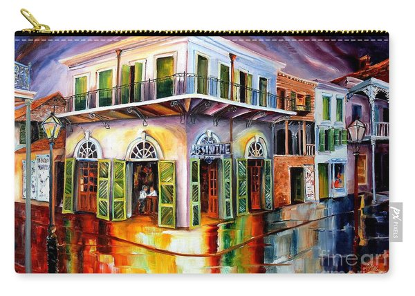 Absinthe House New Orleans Carry-all Pouch