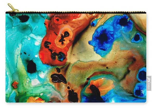 Abstract 4 - Abstract Art By Sharon Cummings Carry-all Pouch