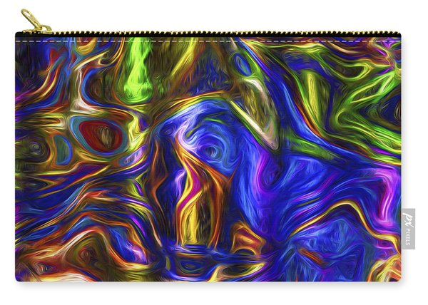 Abstract Series A3 Carry-all Pouch