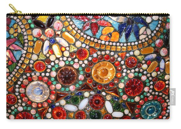 Abstract Beads Carry-all Pouch