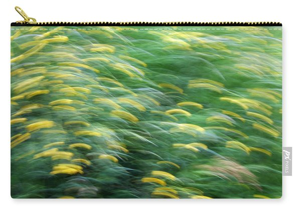 Abstract Blurred Flower Meadow In Spring Carry-all Pouch