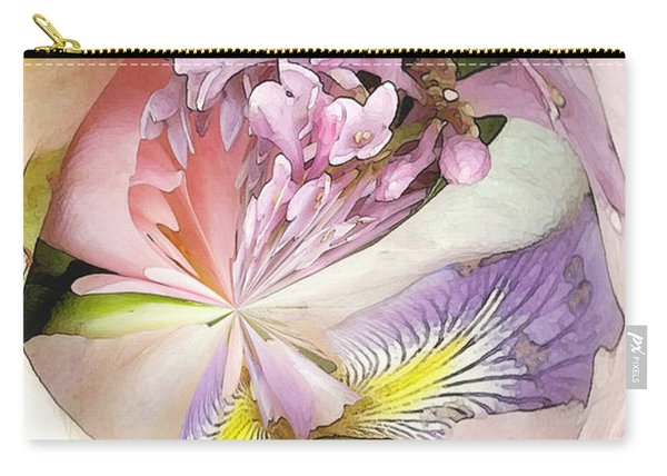Abstract Bouquet Carry-all Pouch