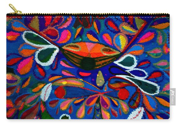 Abstract Crab - Sea - Bubbles - Water Carry-all Pouch