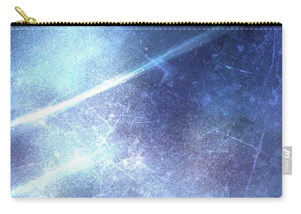 Abstract Frozen Glass Carry-all Pouch