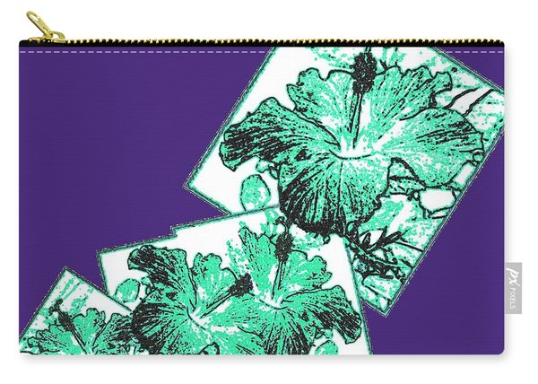 Abstract Fusion 244 Carry-all Pouch