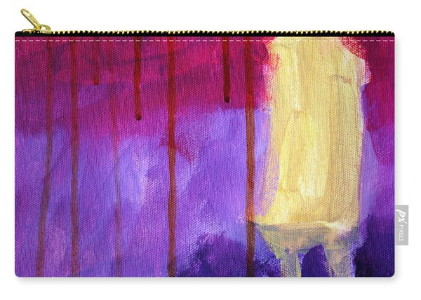 Abstract Ghost Figure No. 3 Carry-all Pouch