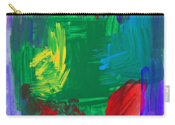 Abstract High Five Carry-all Pouch