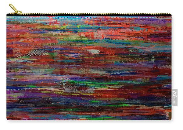 Abstract In Reflection Carry-all Pouch