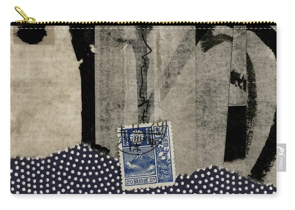 Abstract Japanese Collage Carry-all Pouch