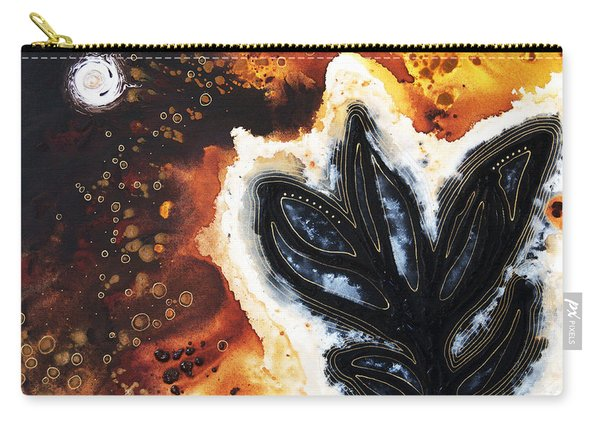 Abstract Landscape Art - New Growth - By Sharon Cummings Carry-all Pouch