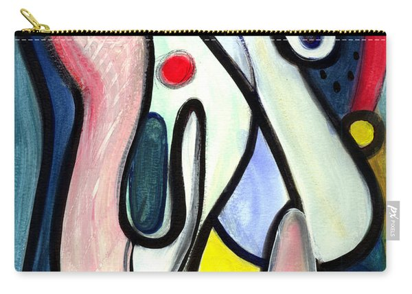 Abstract Mystery Carry-all Pouch