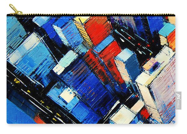 Abstract New York Sky View Carry-all Pouch