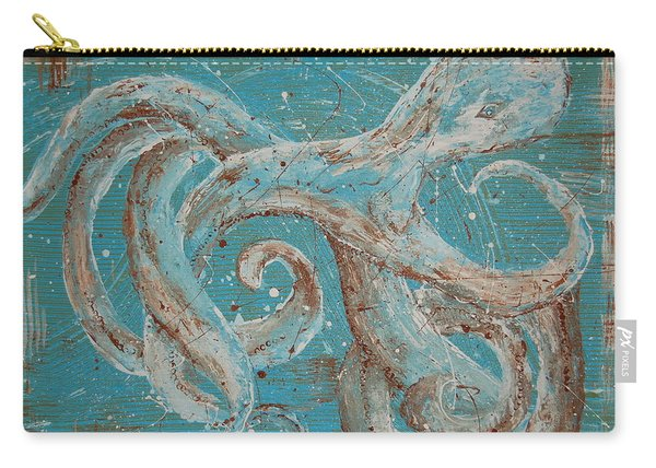 Abstract Octopus Carry-all Pouch