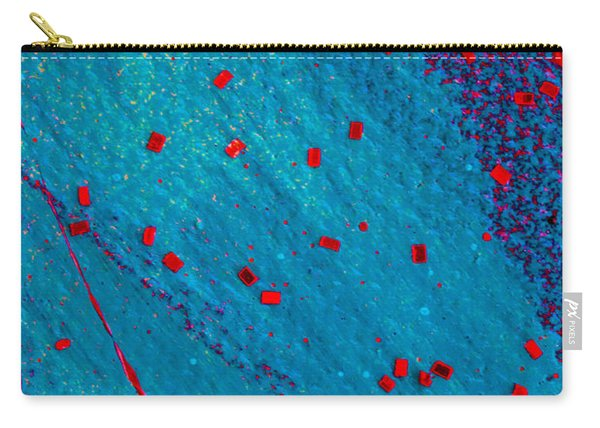 Abstract Original Artwork One Hundred Phoenixes Untitled Number Eleven Carry-all Pouch