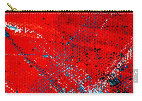 Abstract Original Artwork One Hundred Phoenixes Untitled Number Five Carry-all Pouch