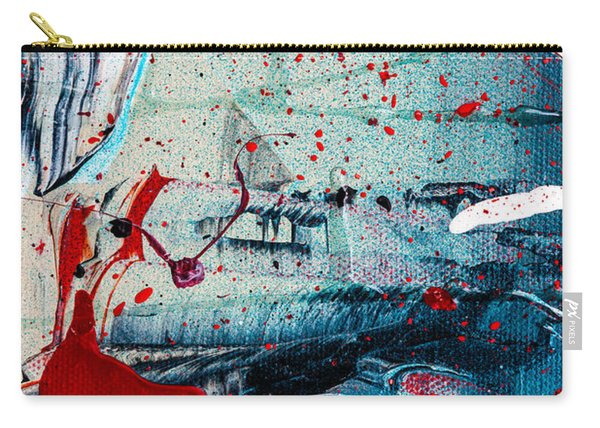 Abstract Original Artwork One Hundred Phoenixes Untitled Number Six Carry-all Pouch
