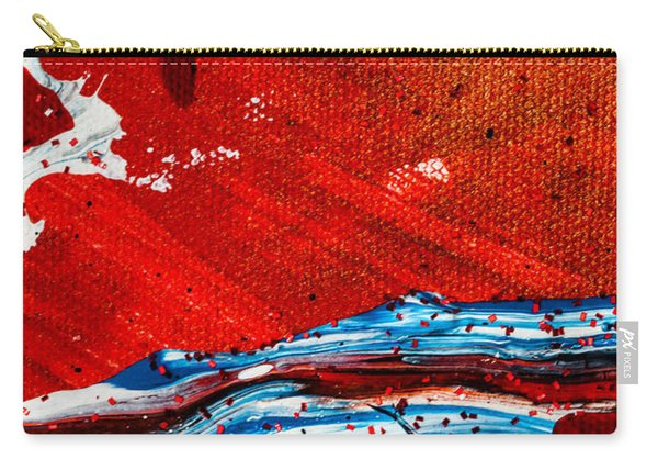 Abstract Original Artwork One Hundred Phoenixes Untitled Number Three Carry-all Pouch