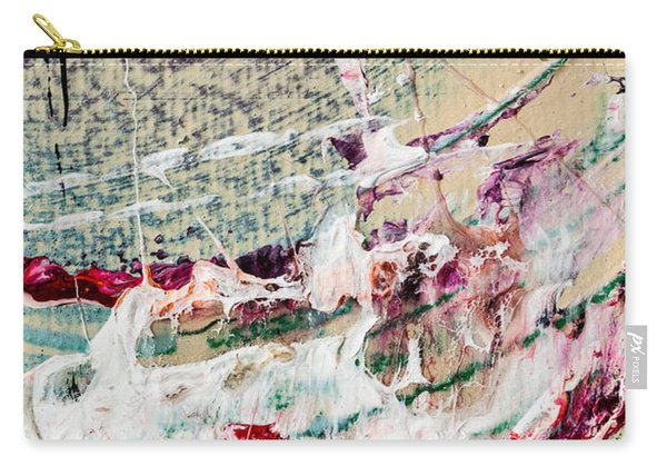 Abstract Original Painting Number Eight Carry-all Pouch