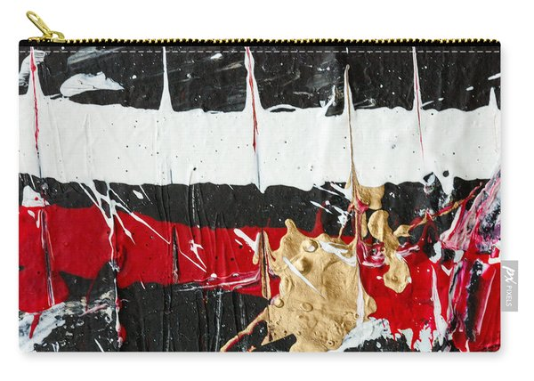 Abstract Original Painting Number Five Carry-all Pouch