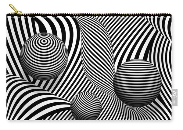 Abstract - Poke Out My Eyes Carry-all Pouch