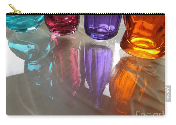 Abstract Reflections #4 Carry-all Pouch