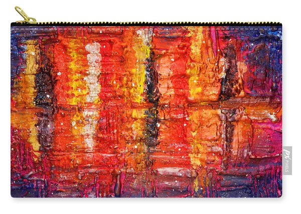Abstract Skyline Carry-all Pouch
