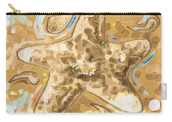 Abstract Starfish Carry-all Pouch