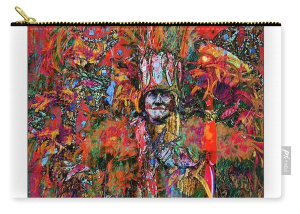 Abstracted Mummer Carry-all Pouch