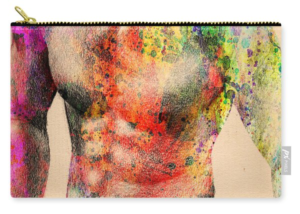 Abstractiv Body -2 Carry-all Pouch