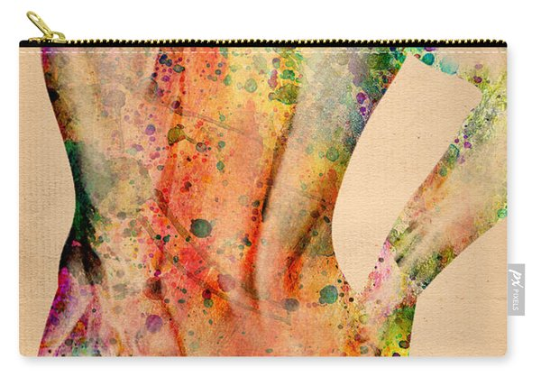 Abstractiv Body - 4 Carry-all Pouch
