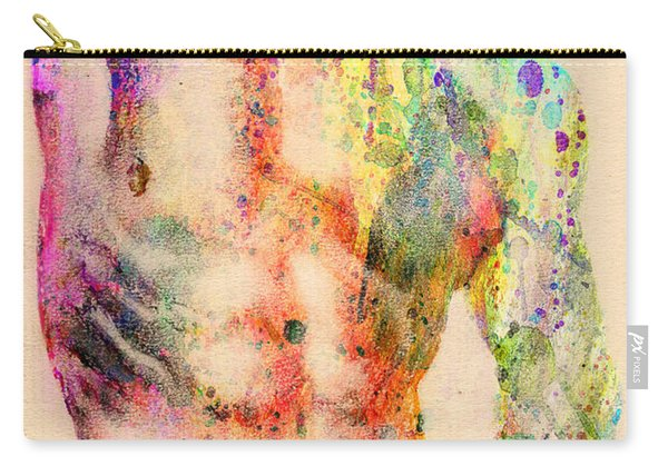 Abstractiv Body  Carry-all Pouch