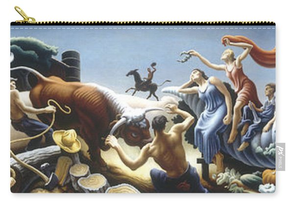 Achelous And Hercules Carry-all Pouch
