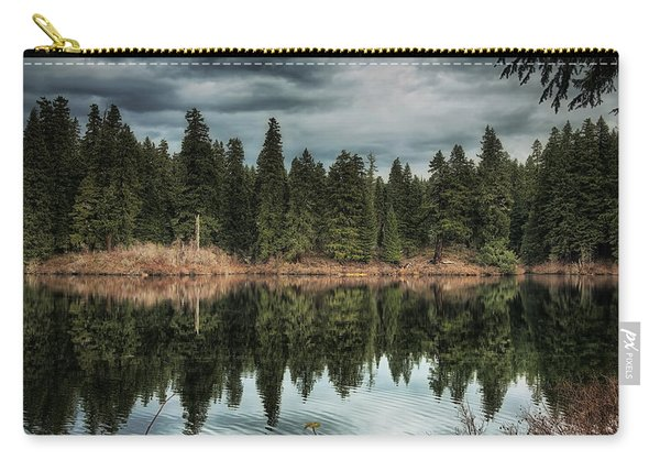Across The Lake Carry-all Pouch