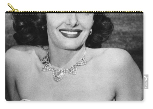 Actress Jane Russell Carry-all Pouch
