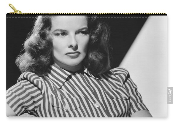 Actress Katharine Hepburn Carry-all Pouch