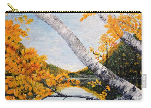 Adirondacks New York Carry-all Pouch